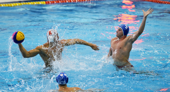 Trainingskamp waterpolo