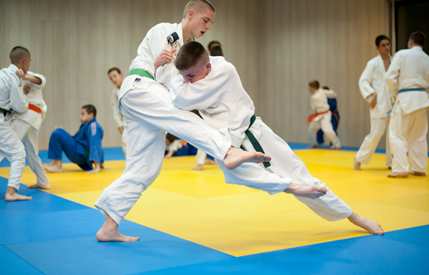Judo trainingsstage
