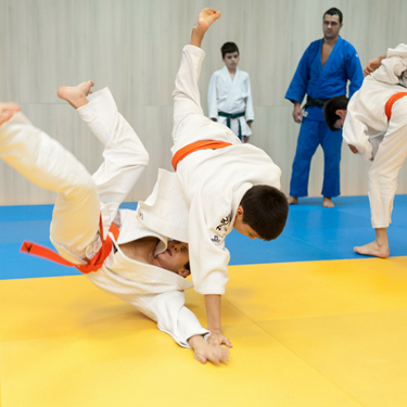 Trainingskamp judo