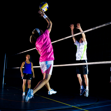 Trainingskamp volleybal